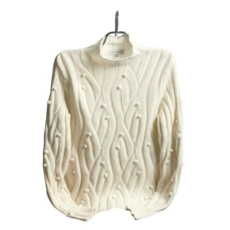 David Brooks Popcorn Fisherman Sweater (For Women)