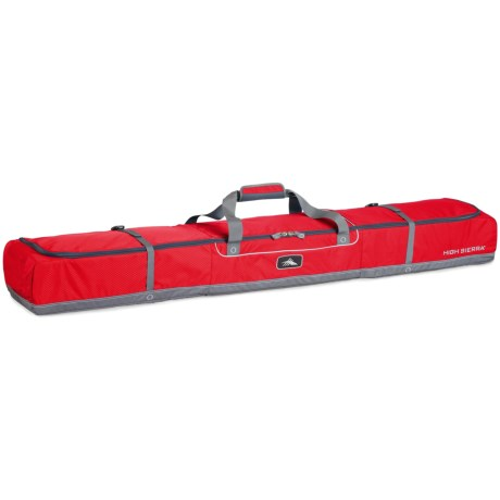 High Sierra Deluxe Double Ski Bag