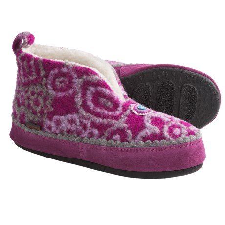 Acorn Leeda Bootie Slippers - Wool Blend (For Women)