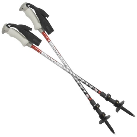 Komperdell Titanal Expedition Trekking Poles - Power Lock, Pair
