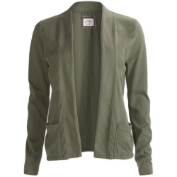 PJ Salvage Olive Outing Jacket (For Women)