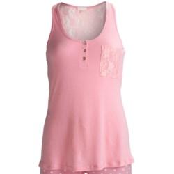 PJ Salvage Isla Bonita Lace Tank Top (For Women)