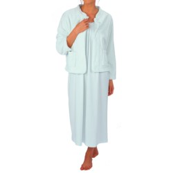 Paddi Murphy Cloud Fleece Bed Jacket (For Women)