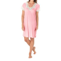 Paddi Murphy Softies Melanie Nightgown - Short Sleeve (For Women)