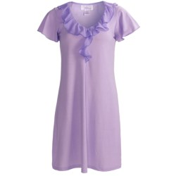Paddi Murphy Softies Ellie Nightgown - Short Sleeve (For Women)