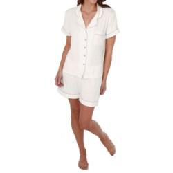 Paddi Murphy Softies Meghan Shorty Pajamas - Short Sleeve (For Women)