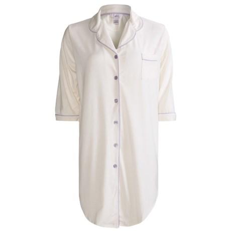Paddi Murphy Softies Meghan Sleep Shirt - Long Sleeve (For Women)