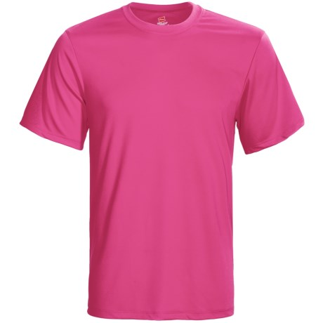 Hanes Cool-DRI® High-Performance T-Shirt - UPF 50+, Short Sleeve (For Men and Women)
