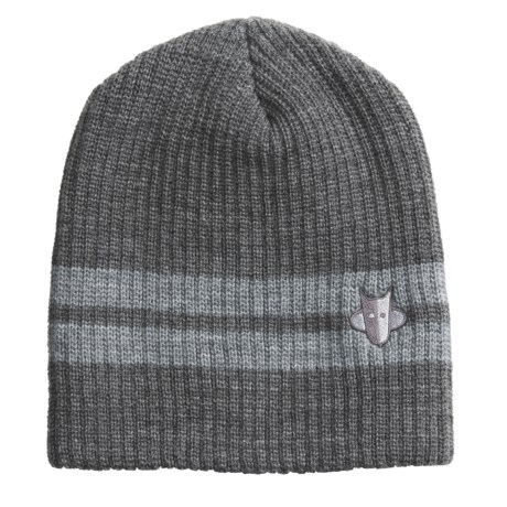 Jacob Ash Attakid Heathered Stripe Knit Hat (For Kids)