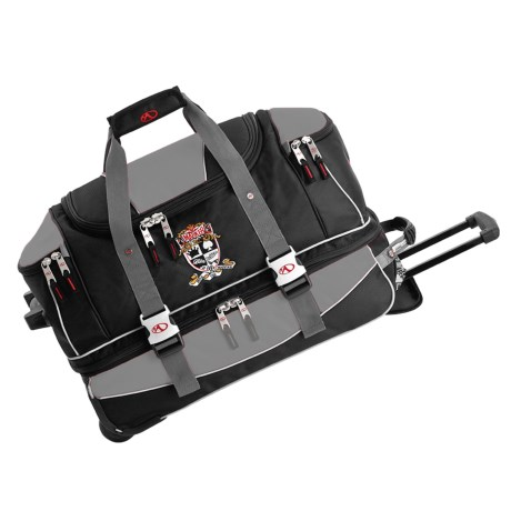 """Marker Carry On Wheeled Duffel Bag - 21"""""""