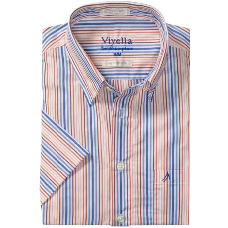 Viyella Southhampton Stripe Shirt - Short Sleeve (For Men)