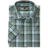 Viyella Cotton Plaid Shirt - Short Sleeve (For Men)