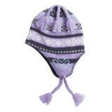 Igloos Clover Knit Hat - Fleece-Lined  (For Women)