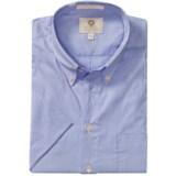 Viyella Mini-Stripe Shirt - Button-Down Collar, Short Sleeve (For Men)