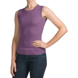 Specially made Crew Neck Tank Top - Cotton (For Women)