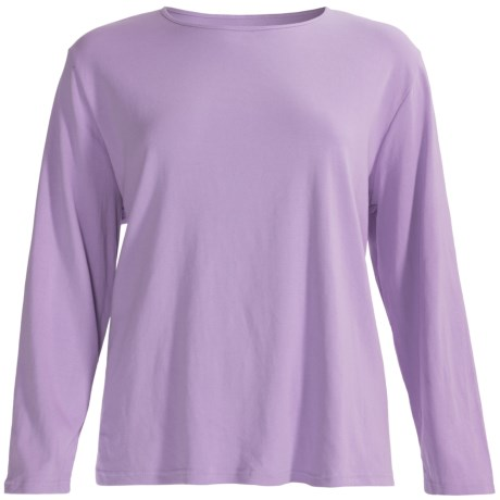 unknown Cotton Shirt - Long Sleeve (For Plus Size Women)