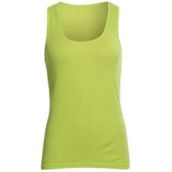 Rib-Knit Tank Top - Cotton (For Women)