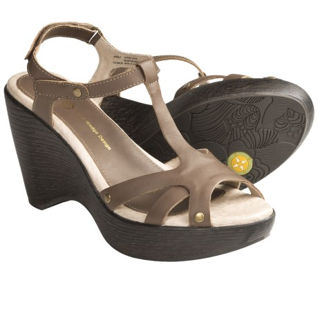 Jambu Marble T-Strap Sandals - Leather (For Women)