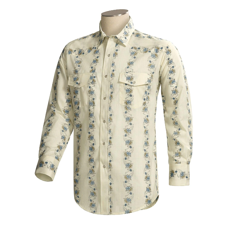 Roper Western Floral Print Shirt For Men 59980 Save 36
