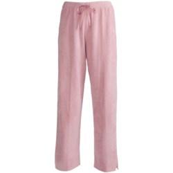 Plush Knit Stretch Pants (For Women)