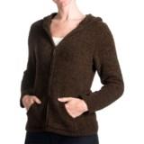Plush by Colorado Clothing Microfleece Hoodie Sweatshirt - Full Zip (For Women)