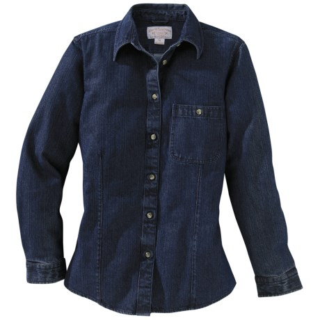 Filson Denim Shirt - Long Sleeve (For Women)