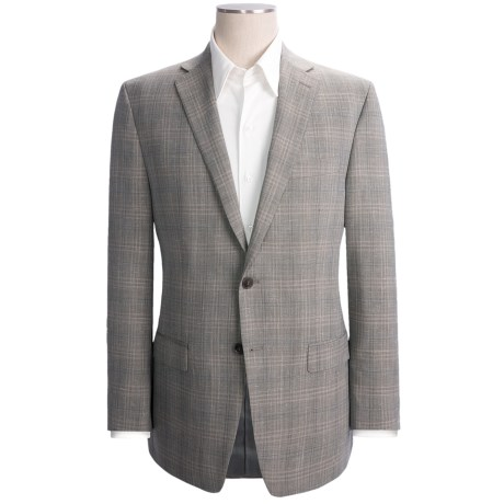 Calvin Klein Check Sport Coat - Wool-Linen (For Men)