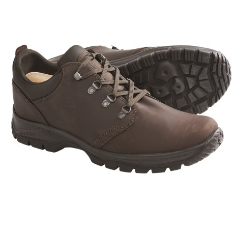 Hanwag Loferer Bio Trail Shoes- Leather (For Men)