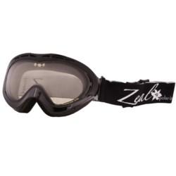 Zeal Aspect Classic Snowsport Goggles - Polarized, Photochromic Lens (For Women)
