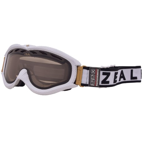 Zeal Detonator PPX Snowsport Googles - Polarized, Photochromic Lens