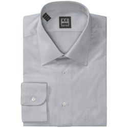 Ike Behar Black Label Cotton Shirt - Spread Collar, Long Sleeve (For Men)