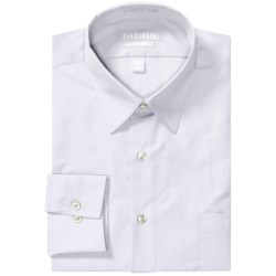 Van Heusen Basics Fitted Dress Shirt - Wrinkle-Free Poplin, Long Sleeve (For Men)