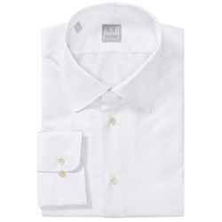 Ike Behar Gold Label Cotton Spread Solid Shirt - Long Sleeve (For Men)