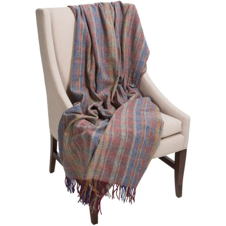 """Moon Wool Throw Blanket - 59x72"""""""