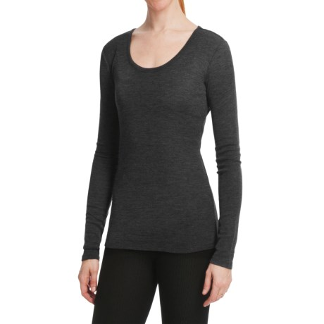 Emu Bondi Merino Wool T-Shirt - Long Sleeve (For Women)