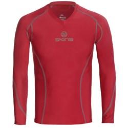 Skins Bio Sport Base Layer Top - V-Neck, Long Sleeve (For Men)