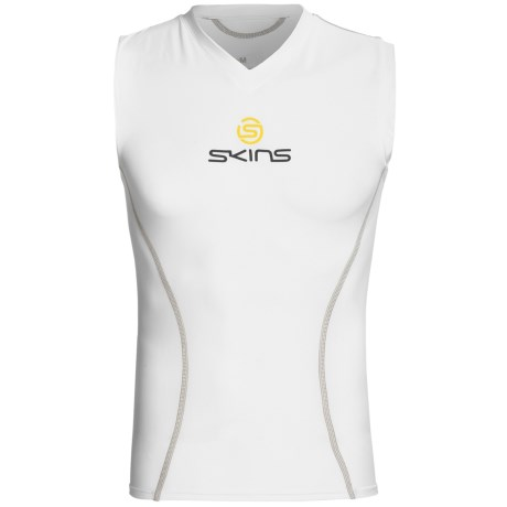 Skins Bio Sport Base Layer Top - V-Neck, Sleeveless (For Men)