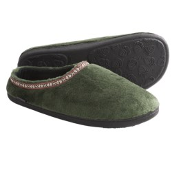 Acorn Highlander Slippers - Fleece-Lined (For Men)