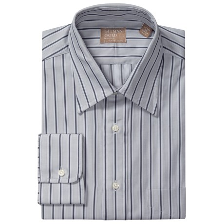 Gitman Brothers Point Collar Dress Shirt - Long Sleeve (For Men)