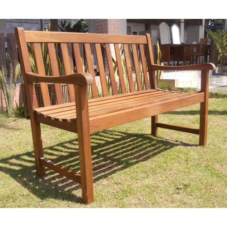 Everlasting Acacia Classic Garden Bench - 4', Wood