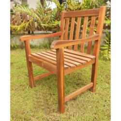 Everlasting Acacia Classic Garden Chair - Wood