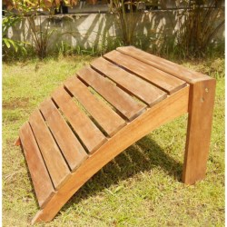 Everlasting Acacia Adirondack Foot Stool - Wood