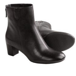 ECCO Nioki Plain Boots - Back Zip (For Women)