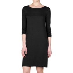 Lilla P Scoop Neck Sweater Dress - Long Sleeve (For Women)