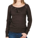 Lilla P Pointelle Raglan Sweater (For Women)