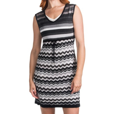 Laundry by Design Cotton Sweater Dress - Sleeveless (For Women)