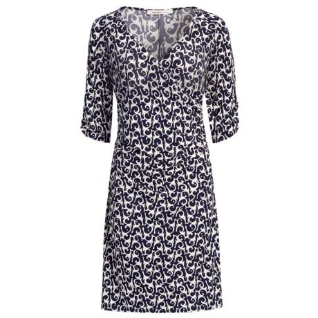 Laundry by Design Loop Dee Doo Dress - Matte Jersey, 3/4 Sleeve (For Women)