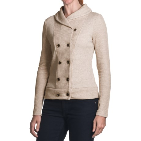 Double-Breasted Cardigan Sweater (For Women)