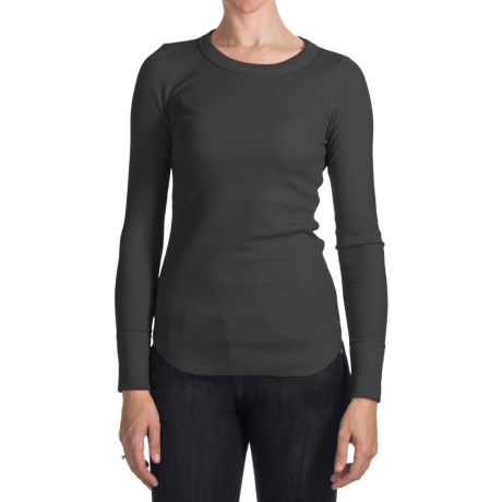 Cotton-Modal Thermal Shirt - Long Sleeve (For Women)