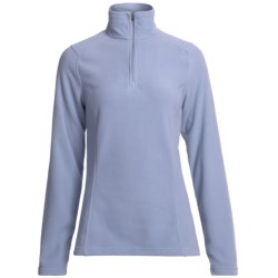 Specially made Fleece Pullover Jacket - Zip Neck (For Women)